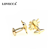 Gold Plated Funny Cufflinks For Men Usa