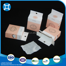 China Manufacturer clean Organic Cosmetic Cotton Pads