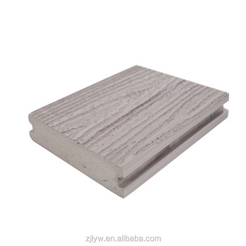 lyw novel item with factory price outdoor composite wpc decking flooring
