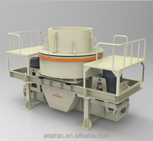Indonesia VSI sand making machine has stock for stone crushing line