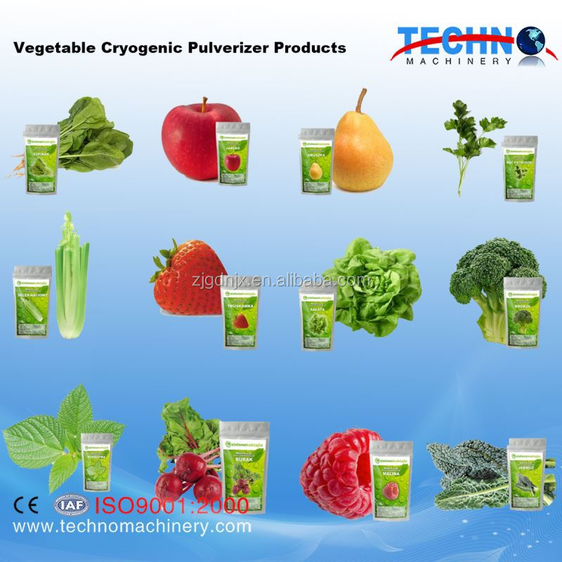 Dehydrated Vegetable and Fruits Pulverizer
