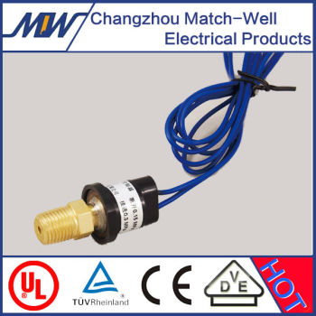 microw extra-low vacuum pressure switch within -0.1~0.05MPa for compressor machines