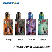Aleader Funky Squonk Resin Kit ! 2018 Newest 7ml PET Food Grade 510 Connector With Bottom Feeding Pin Funky Squonk Resin Kit