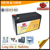 storage battery 36v 12V 9H 7.2ah UPS battery for computer