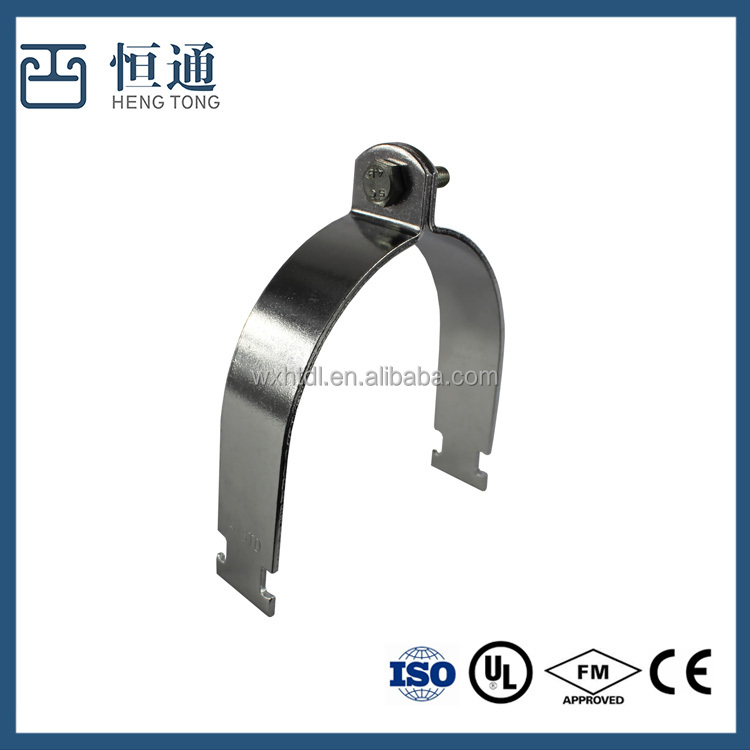 Manufacturers Clip Pipe Clamps galvanized