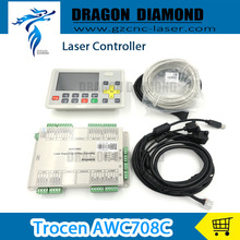 CO2 laser DSP controller system Trocen AWC708C Lite for laser cutter engraver replace AWC608
