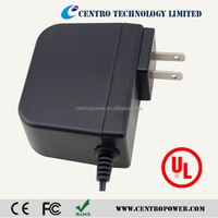 Hot selling EU US plug universal ac/dc 12v 2a power adapter with UL VI approved