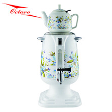 2017 Electric Samovar Ceramic Tea Pot Turkish