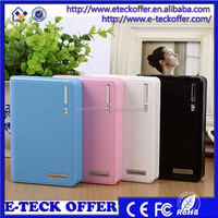 12000mah portable battery external for iphone and for samsung