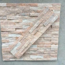Direct factory supply Rust plate Beige slate stone stacked culture stone