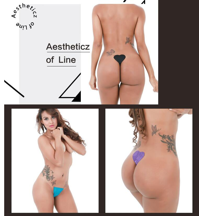 Seamless Disposable C String Invisible No-Line sticky strapless Women Sexy Underwear