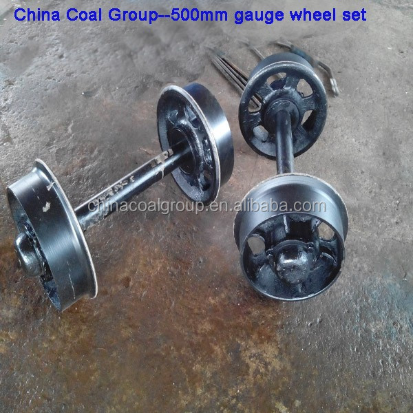 Hollow Wheel Sets for Mines Ores Carts from China Manufacturer