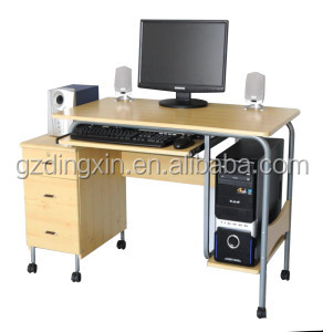 Executive Desk Picture,with Hutch Wheel Office Furniture DX-MW015