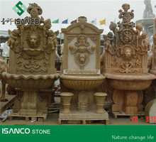 hand carved waterfall fountain landscaping stone fountain Garden Water Fountain