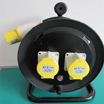 cable drum Three-pin Industrial Cord Reel AC Power Cord