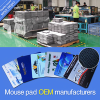 Custom sublimation printed mousepads manufacturer,low MOQ