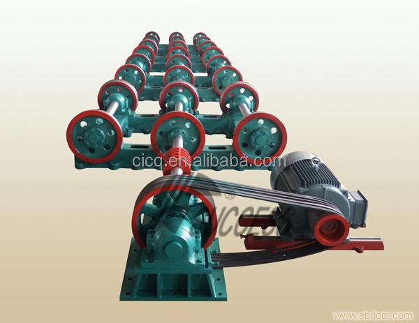 Reinforced heavy concrete electric spc pole molding machine