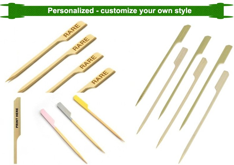Hot sales eco-friendly bamboo paddle picks with great price
