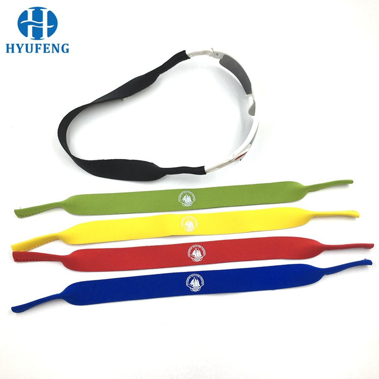 Orange Eyeglass Holder Neck Strap