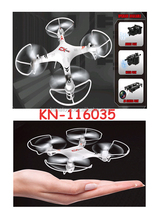 2017 wholesale sky carrier 2.4G rc quadcopter rc aircraft in white color