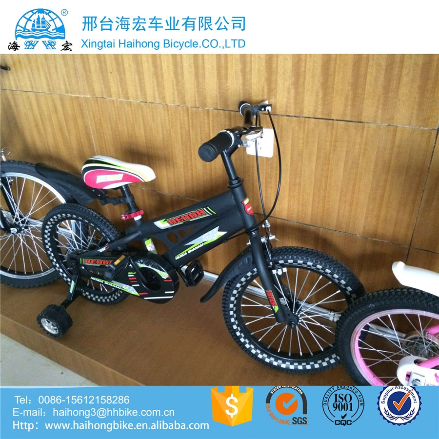 bike 16 for 3 8 years old / cheap price bicycle children for Europe Market / bike kids with training wheel