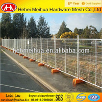2014 hot sale!Hot Dipped Galvanized Temporary Fence/Removable Fence