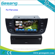 high resolution 1024*600 Android 6.0 car GPS navigation dvd player for Fiat Linea/punto with FM bluetooth av-in function