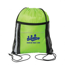 Bespoke draw string sport backpack For teens/girls