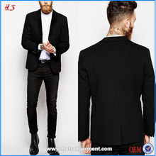 2016 High Quality New Custom Mens Suits Wholesale Black Business Man Suit