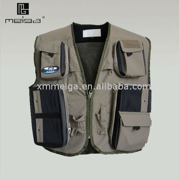 fashion fishing vest for men