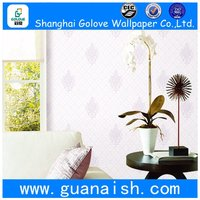 Waterproof branded hello kitty design nonwoven wallpaper