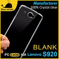 cell phone plastic back cover for lenovo s920, mobile phone case for lenovo s920