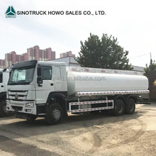 2017 Sinotruk HOWO 10 wheeler oil tank truck 6x4 20000L 6x4 fuel delivery tanker truck for sale
