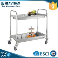 Heavybao Stainless Steel Used Push Go Holder Cart