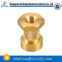 China professional supplier sales cnc brass parts/brass standoff/cnc brass turning parts