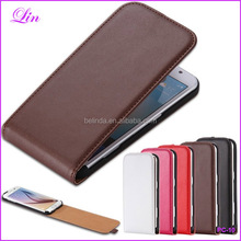 S4mini Real Leather Case For Samsung Galaxy S3 S4 mini S5 S6 S7 Edge Note 3 4