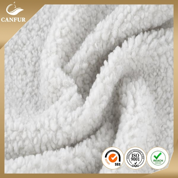 100% wool plush fabric For Blanket Sofa