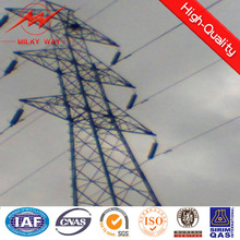 33kv transmission Lattice tower pole with different class for distribution application
