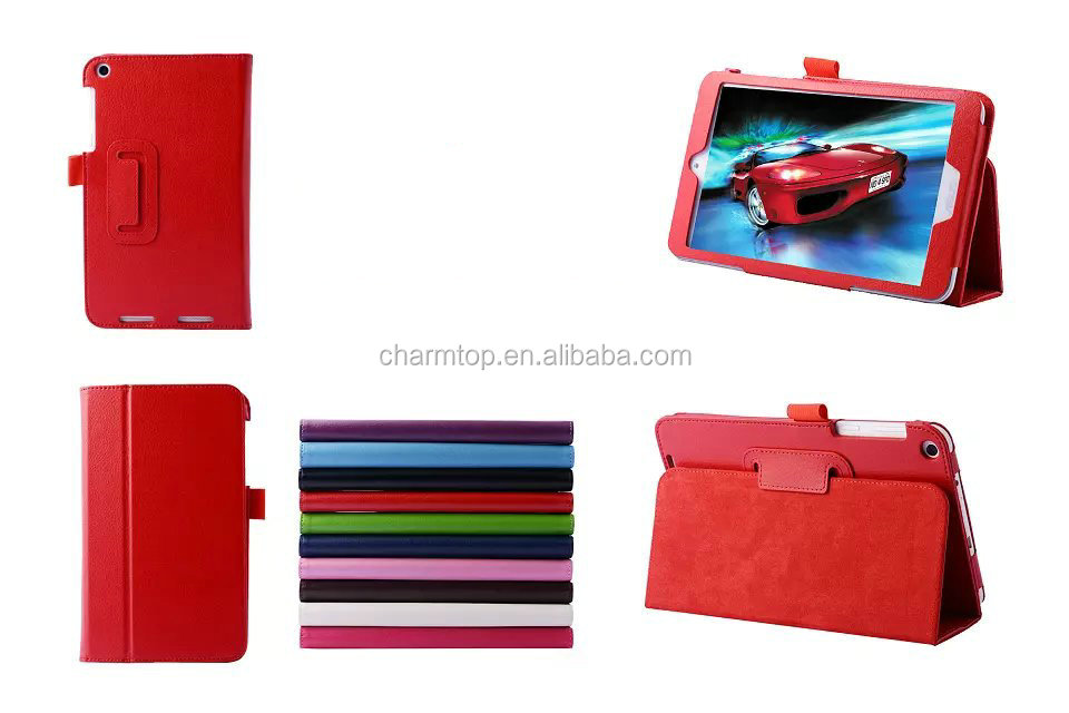Stand Leather Case For Asus Memo Pad 8 181C