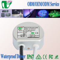 IP67 round led power supply waterproof led transformer