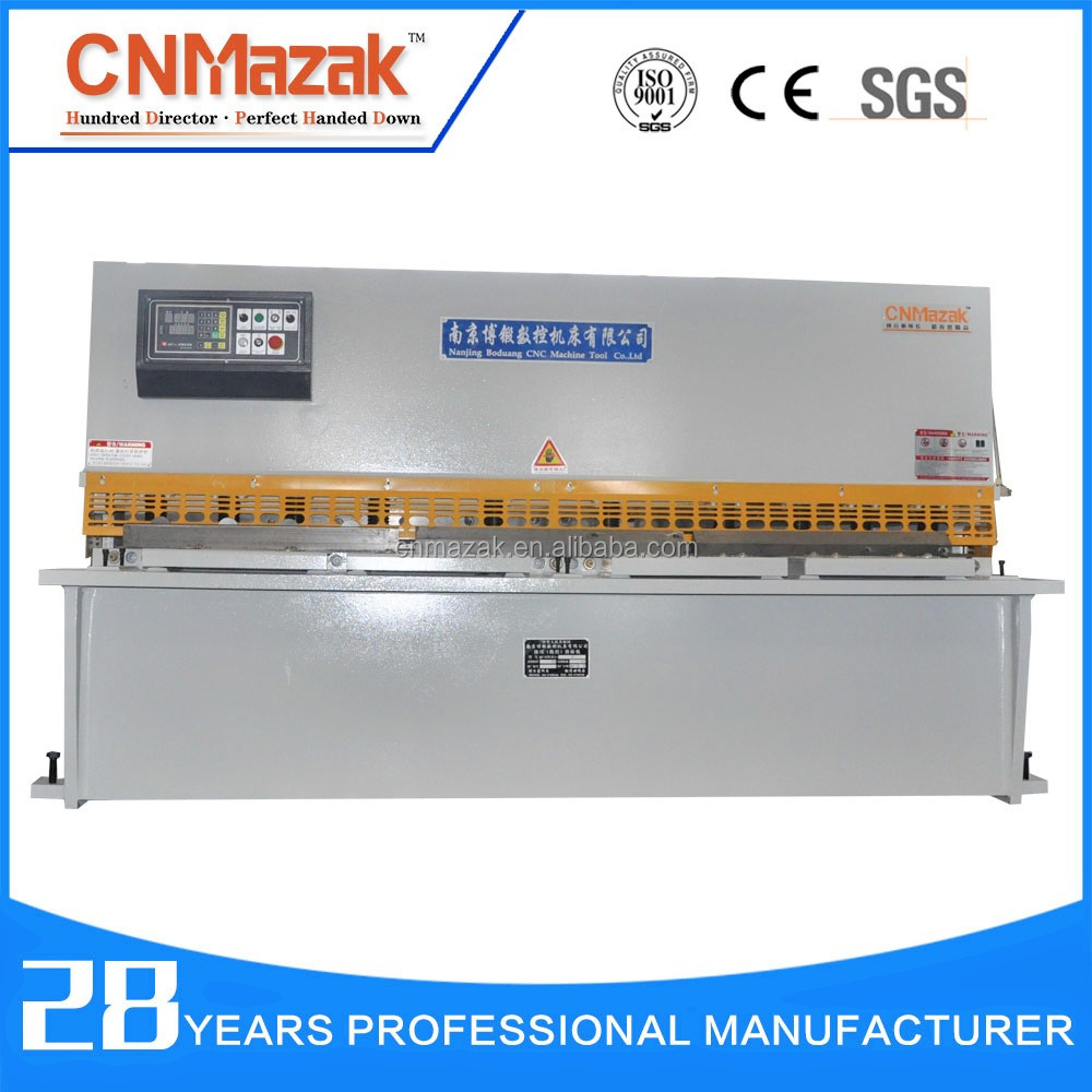 hydraulic alloy sheet cutting machine metal cutting tools