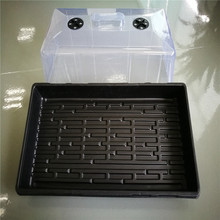 Seed Trays dome plant grow Starting Durable Plastic gemination tray with kits