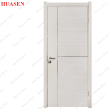 israeli rounded design interior mdf pvc wooden door