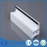 Henan Lanke hot selling factory price upvc profile conch profile upvc