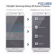 Factory Supplier For Samsung Galaxy S5,S6,S7 Tempered Glass Screen Protector 0.3MM 2.5D Guard Film Protective Film IN STOCK