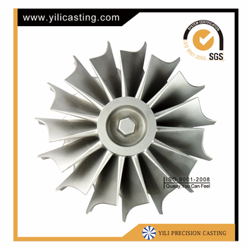 turbocharger parts inconel 713c vacuum casting turbine wheel engine parts