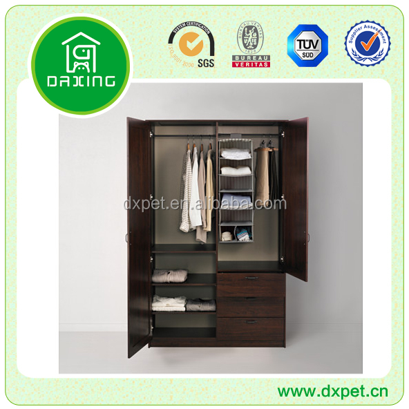 Modern bedroom furnitre home furniture mdf or wooden walmart wardrobe