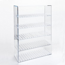 High Quality Custom E-liquid Juice Diaplay Stand Clear Acrylic Cigarette Display Rack Cabinet