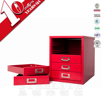 novel elegant simple and convenient small metal drawer