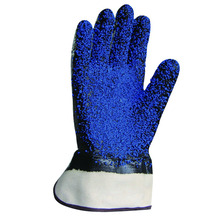 Great grip and friction industrial protective gloves for work in the oily conditions